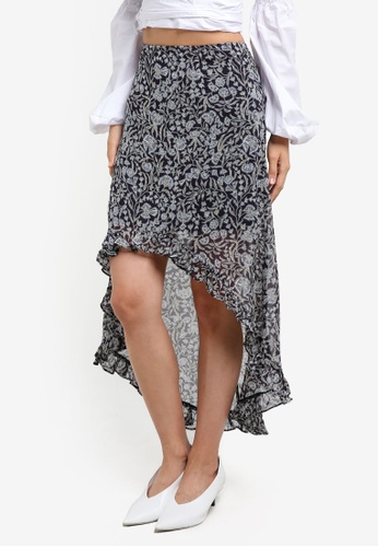 The Fifth Label multi Brushstrokes Skirt TH664AA0S3PXMY_1