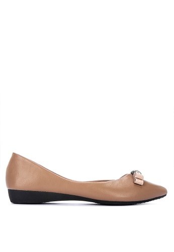 special section for whole family top brands Shop Mnicole Pointed Toe Ballet Flats Online on ZALORA Philippines