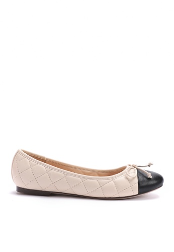Twenty Eight Shoes Faux Lamp leather Ballet Shoes 889-5 CF2A0SH02674D8GS_1