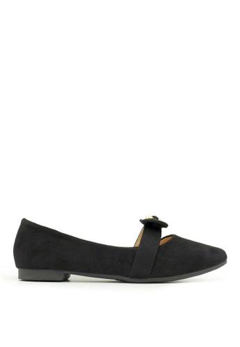 Carlo Rino black Carlo Rino 333020-268-08 Pointed Toe Flats (Black) 37AC5SH898C84DGS_1