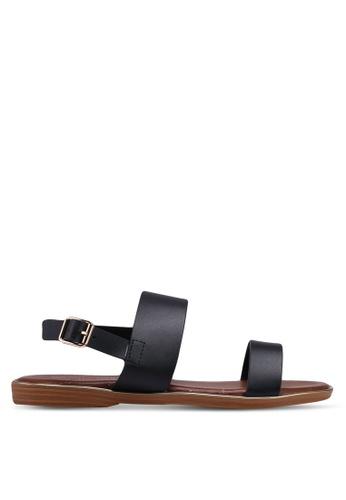 Mimosa black Classic Flat Sandals 5233ASHA8699A4GS_1