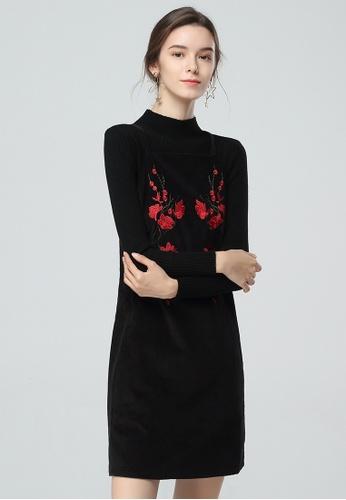 London Rag black Black Sleeveless Halter neck Short Dress BCF0FAA912FABBGS_1