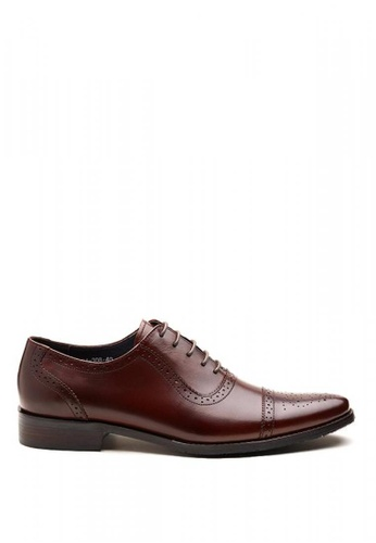 Kings Collection brown Eamon Oxford Shoes F9E10SHB452EAAGS_1