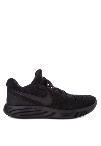 Nike black Men's Nike Lunarepic Low Flyknit 2 Running Shoes NI126SH0JNQCPH_1