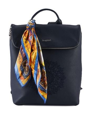 Desigual blue Square Backpack C1D71AC773080CGS_1