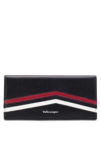 Volkswagen black Volkswagen Bi-Fold Long Wallet VO089AC97GMSMY_1
