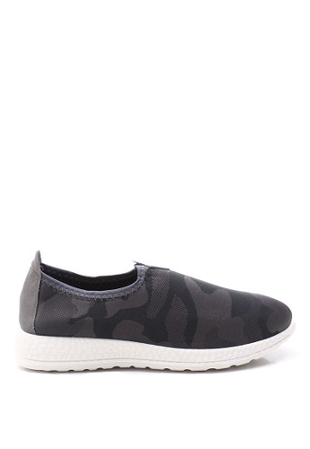 Dr. Kevin green and grey Dr. Kevin Soft & Comfortable Men Sneakers Slip On 9307 - Camouflage DR982SH69NBMID_1