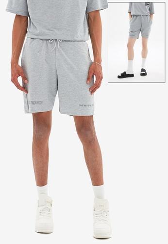 Trendyol grey Regular Fit Bermuda Shorts 7E96FAAB9523ECGS_1