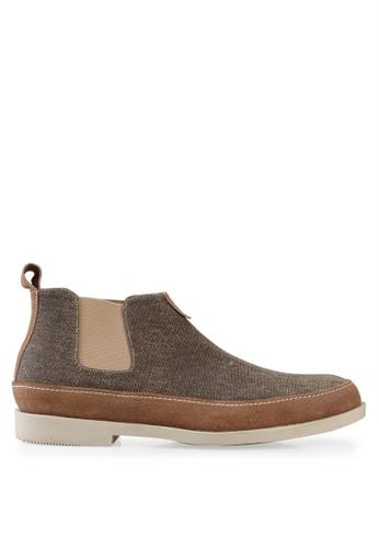 S.Baldo brown Henry Shoes SB324SH54KONID_1