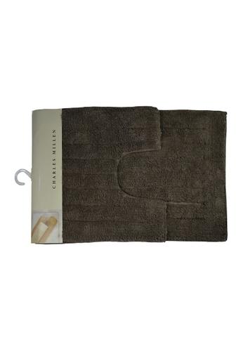 Charles Millen Charles Millen CMST Oi-4186 Fuse 100% Cotton Tufted Bath Rug 40x40 and 40x60cm / 650g. DBA6DHL500B474GS_1