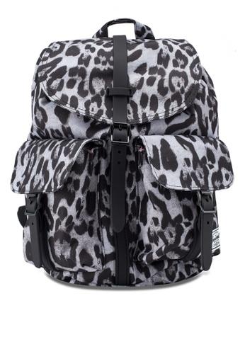 Herschel grey and multi Dawson S Backpack 538C0AC2CF2D34GS_1
