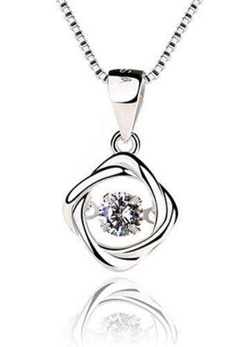 LYCKA silver LPP88047 S925 Silver Necklace 093BFACC4ED63EGS_1