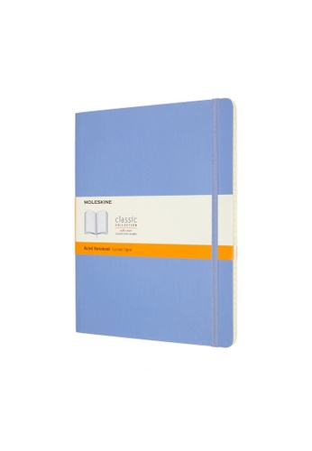 Moleskine blue Classic Notebooks Ruled Soft Blue Xl 6F2DCHL5B9A980GS_1