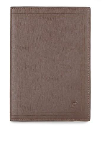 PIERRE CARDIN brown Passport PI436AC0UB1MID_1
