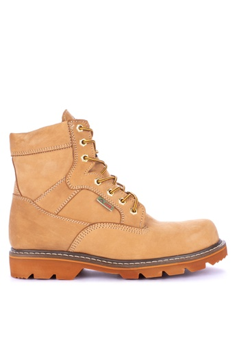 Itti brown Lace up Boots 30173SHA4FCB00GS_1