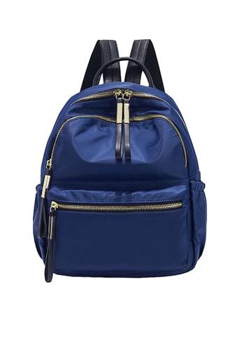 Twenty Eight Shoes blue VANSA Nylon Oxford Backpacks VBW-Bp3651 06170AC851C366GS_1