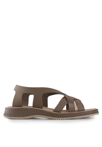 Watchout! Shoes brown Flats Sandals WA021SH10JONID_1
