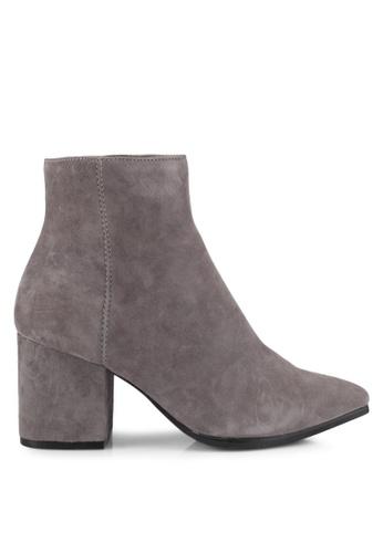 ALDO grey Fralissi Boots AL087SH0SE23MY_1