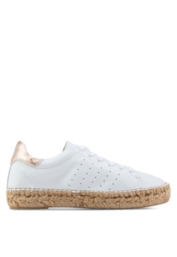KG Kurt Geiger white Lovebug Sneakers KG303SH97DXYMY_1