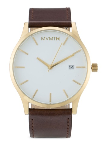 MVMT brown MVMT Classic Watch - White Gold MV187AC0SZQXMY_1