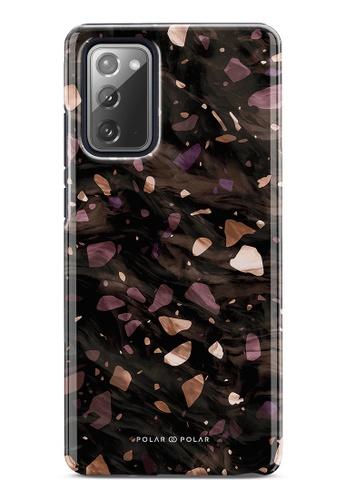Polar Polar brown Eminence Terrazzo Gem Dual-Layer Tough Case Glossy For Samsung Galaxy Note20 5G 155B6ACDFA4C7FGS_1