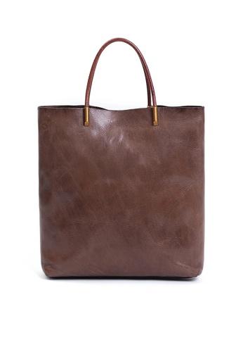 Twenty Eight Shoes Vintage Cow Leather Tote Bags QY8749 D2F4DAC702D8D0GS_1