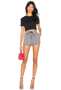 badce6446 39% OFF by the way Jazmin Houndstooth Shorts(Revolve) S$ 76.00 NOW S$ 46.00  Available in several sizes