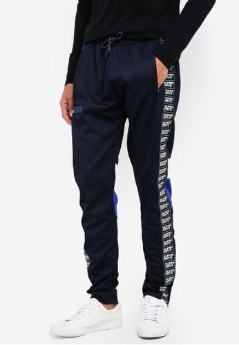 Superdry blue and navy SD Tricot Panelled Track Pant C3895AA75D193BGS_1