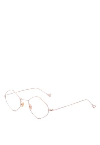 Kimberley Eyewear gold Wicked Eyeglasses F215EGL451409AGS_1