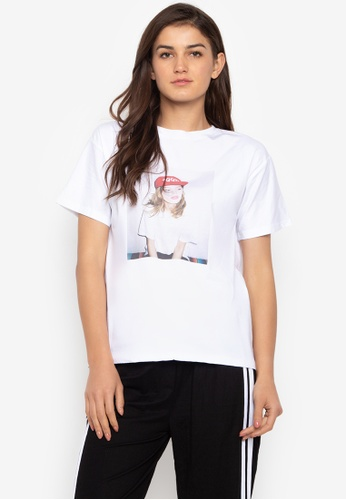 6aabfc18d275f Shop Chase Fashion Logo Print White T-Shirt Online on ZALORA Philippines