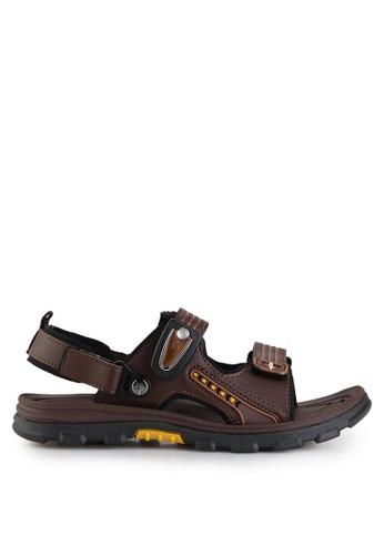 Homyped brown Bromo 02 Men Sandal Gunung HO842SH48GYTID_1