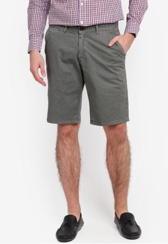 Electro Denim Lab 灰色 Printed Shorts EL966AA0SPC7MY_1