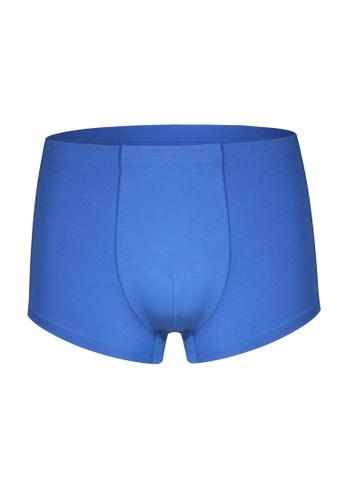 Tani blue Tani Silktouch Men's MicroModal® AIR Trunks 29190 C7547AA8BD7A4CGS_1