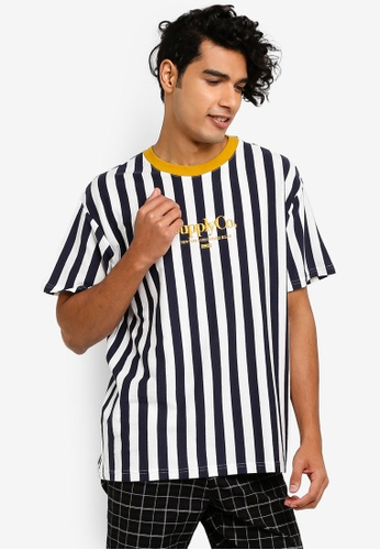 Cotton On 多色 寬鬆品牌刺繡T恤 1A2D9AAB86E5C5GS_1