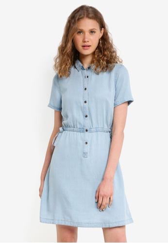 Jack Wills blue Lowesoft Soft Shirt Dress 8878DAAE0C66F6GS_1
