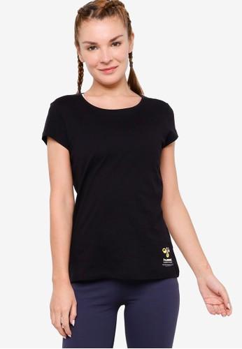 Hummel black Scarlet T-Shirt 4DD55AA63E8B62GS_1