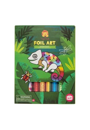 Tiger Tribe Foil Art - Rainforest 0EDF9THC22A6A4GS_1
