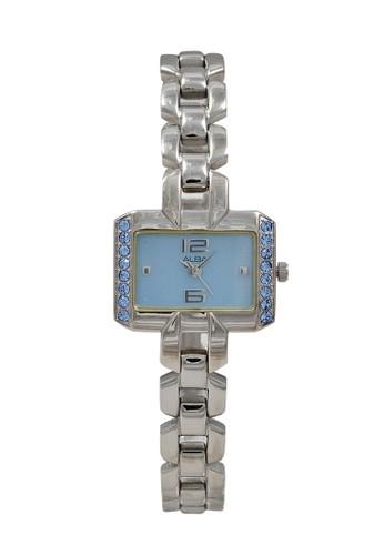 Alba silver ALBA Jam Tangan Wanita - Silver Blue - Stainless Steel - AC3Q65 A4F1EACB71F3F3GS_1