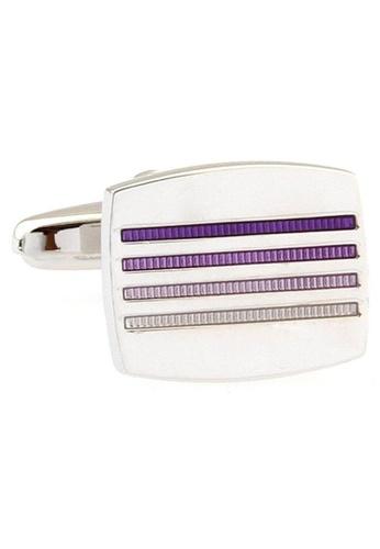 The Little Link Cufflinks purple Gradient cufflinks TH089AC0FSUZSG_1