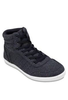 High Top Lace Up Sneakers
