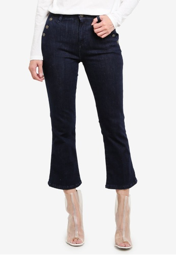 ESPRIT blue Denim Cropped Jeans ES374AA0S2QAMY_1