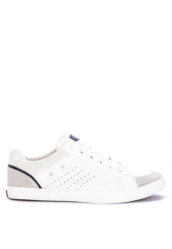 H2Ocean white Cenobio Lace up Sneakers 19CE4SHA1F918DGS_1