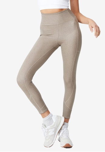 Cotton On Body beige Contouring 7/8 Tights BC0C5AA5A99655GS_1
