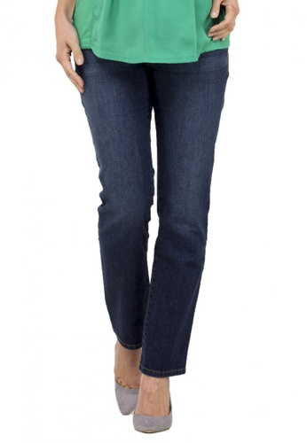 Bove by Spring Maternity blue Woven Reg Straight Denim Jeans 73FF5AA57C2BB1GS_1