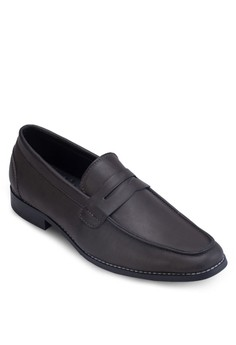 Cn-Faux Leather Penny Loafer