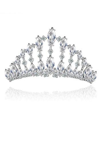 Vivere Rosse silver Vivere Rosse Brilliance Tiara B4E31AC468E16DGS_1