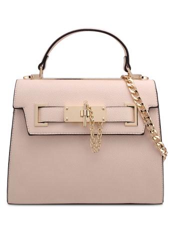 ALDO beige Levicoterme Top Handle Bag 3E75CACE6896DCGS_1