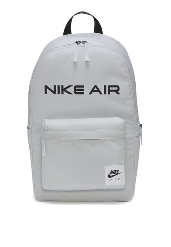 Nike black and grey Air Heritage Backpack 70881AC42B230DGS_1