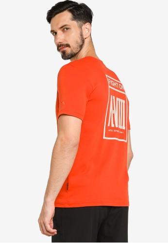 Anta orange Boxing Short Sleeves Tee 2C349AA6DDB3D1GS_1