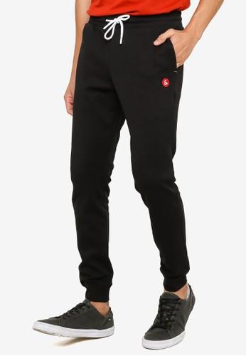 Jack & Jones black Slim Sweatpants AE6C5AA46D38ADGS_1